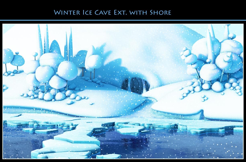 Ice Cave Exterior