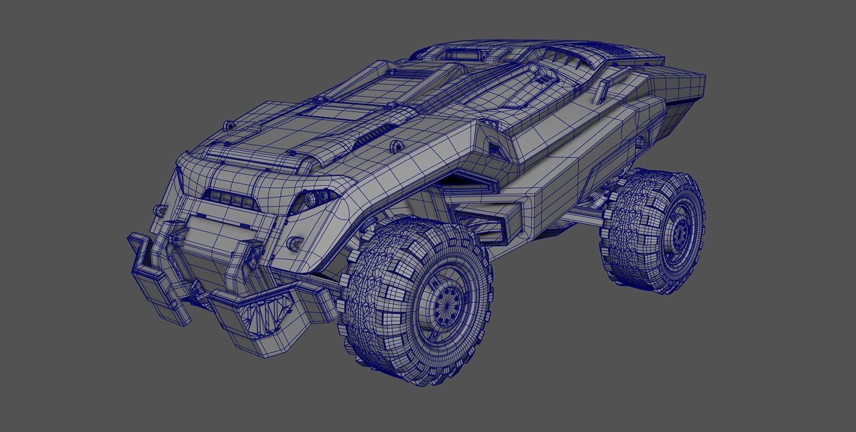Sci-Fi Car