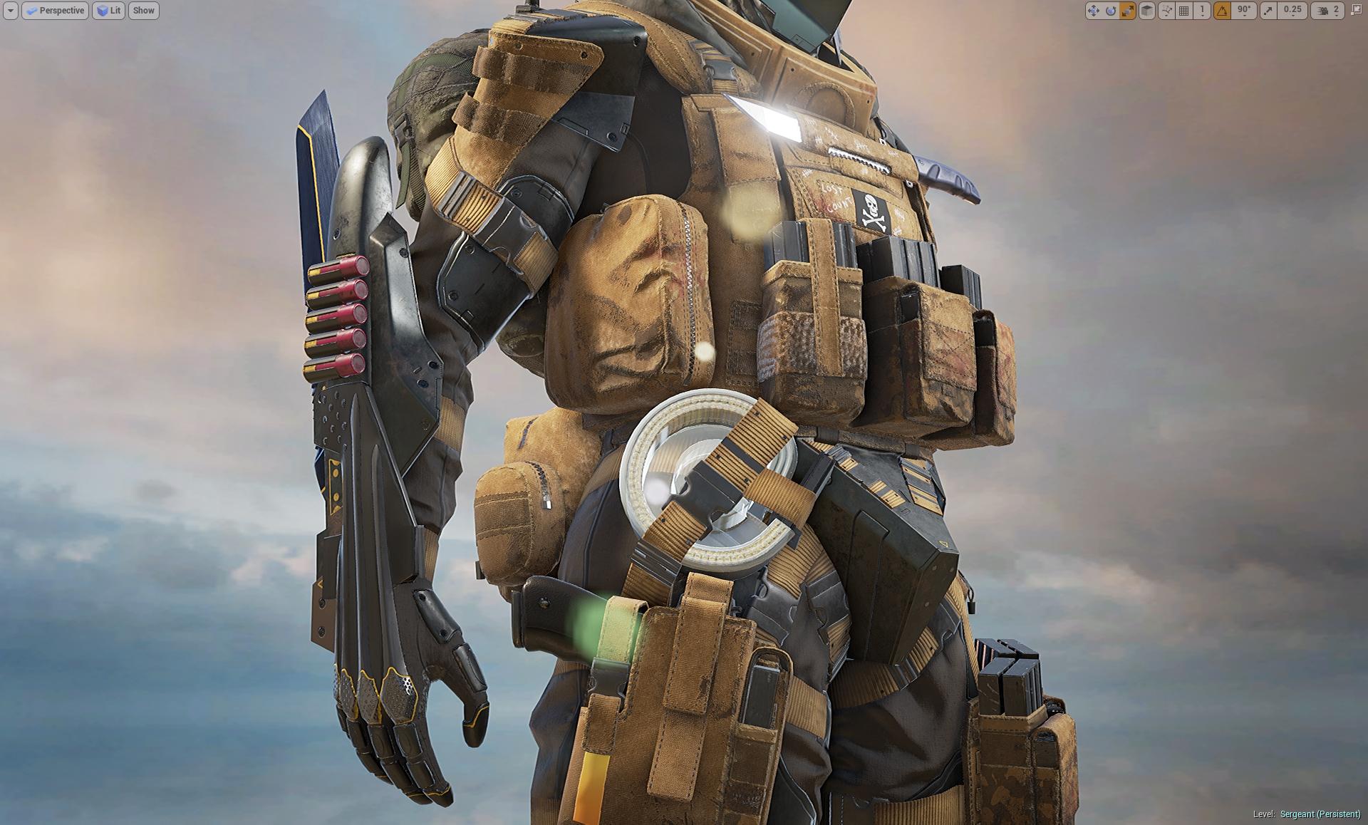 Sergeant WIP